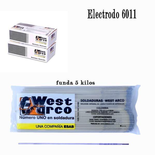 electrodo 6011 proveindustria